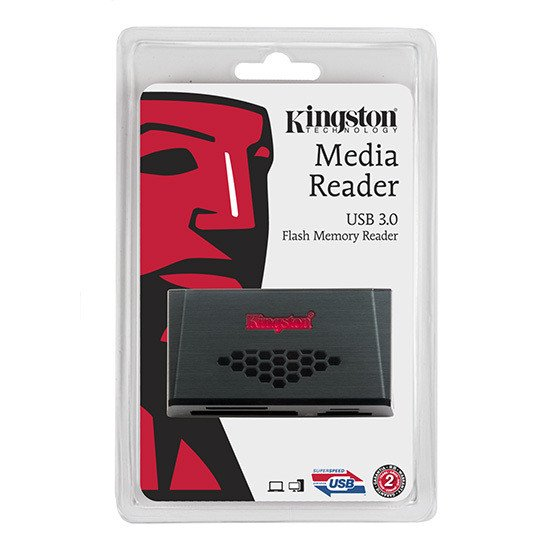 Kingston FCR-HS3 lecteur de carte mémoire USB 3.0