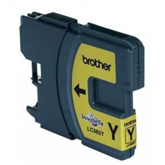 Brother LC-980Y cartouche encre /  Jaune