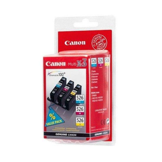 Canon CLI-526  Cartouche encre / Cyan, Magenta, Jaune