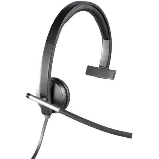 Logitech H650e Casque Audio Usb Avec Micro 981 000514 Pas Cher