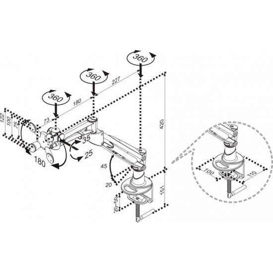 Newstar FPMA-D940HC support bureau