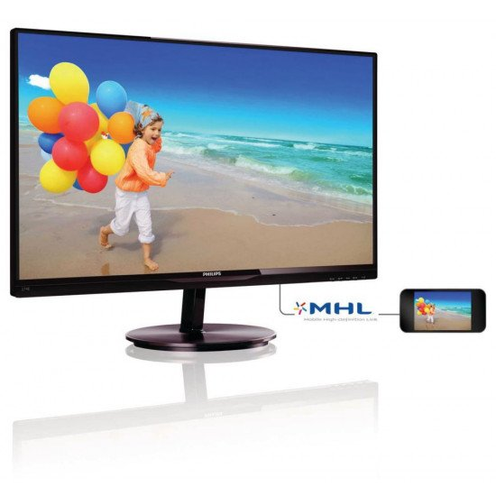 "Philips Moniteur LCD 27"" 274E5QHAB"