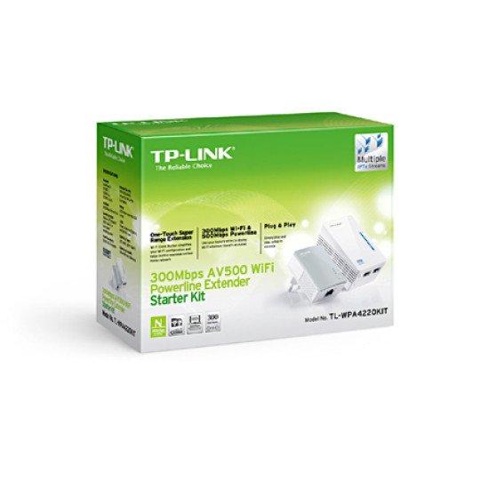 TP-LINK TL-WPA4220KIT Adaptateur réseau CPL