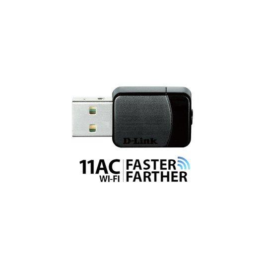 D-Link AC750 Adaptateur réseau Sans fil USB