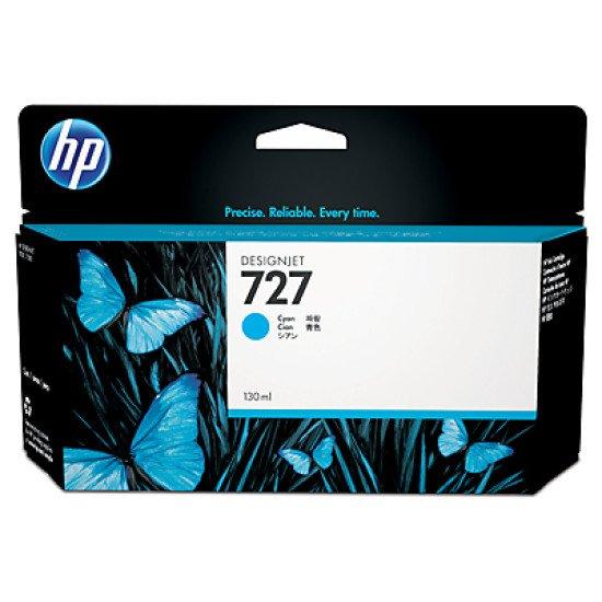 HP 727 130-ml Cyan / B3P19A Cartouche encre / Cyan
