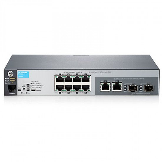 HP Enterprise 2530-8G Switch Gigabit Ethernet