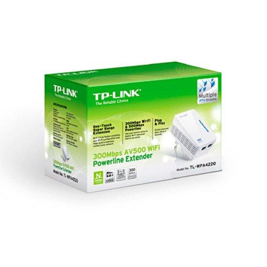 TP-LINK TL-WPA4220 Adaptateur réseau CPL-WIFI