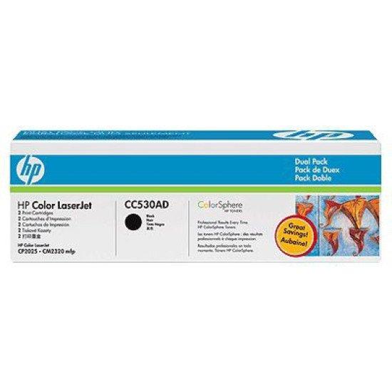 HP CC530AD cartouche toner et laser / CC530AD Toner Noir