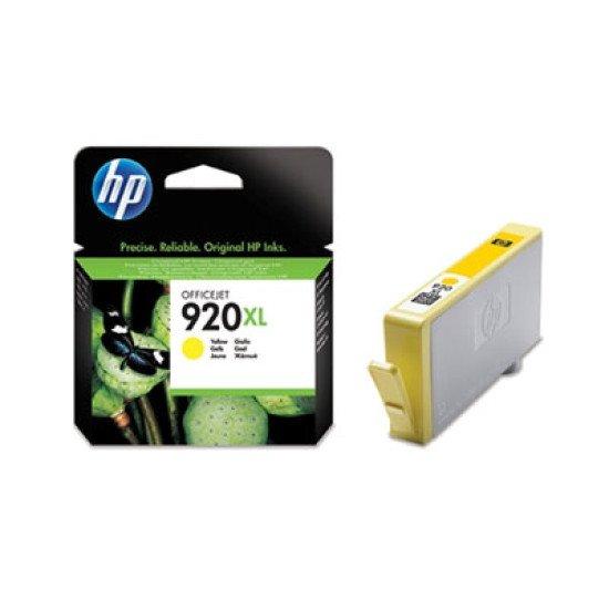 HP 920XL / CD974AE#BGX Cartouche encre / Jaune