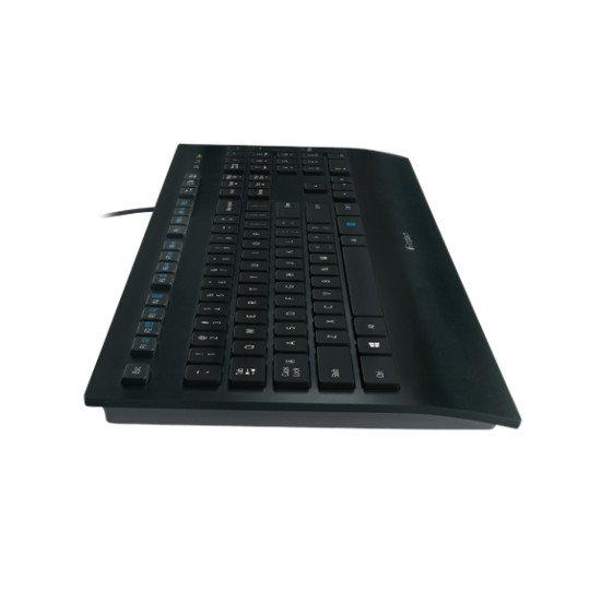 Logitech K280e Clavier USB Noir AZERTY FR