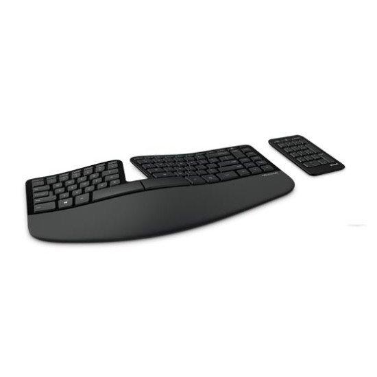 Microsoft 5KV-00005 Clavier USB sans fil Noir QWERTY NL