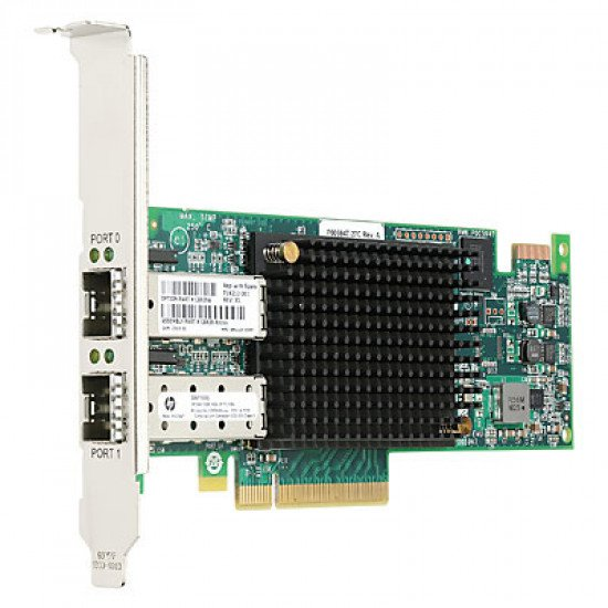 HP Enterprise StoreFabric SN1100E 16Go Dual Port Fibre Channel Host Bus Adaptateur réseau