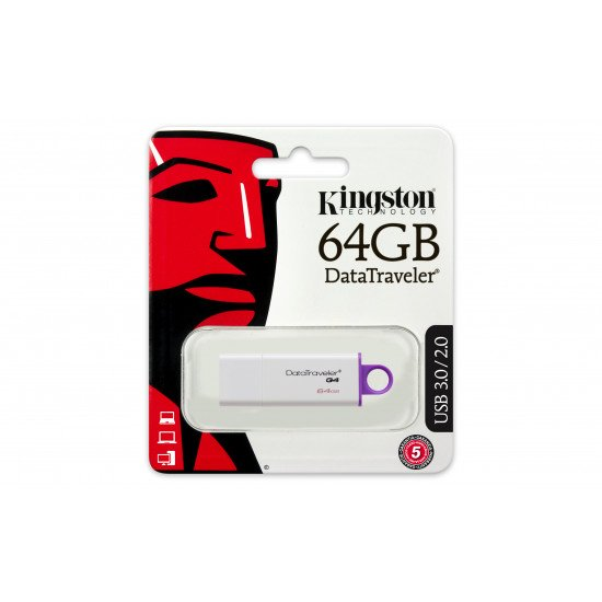 Kingston DataTraveler G4 USB 3.0 64 Go