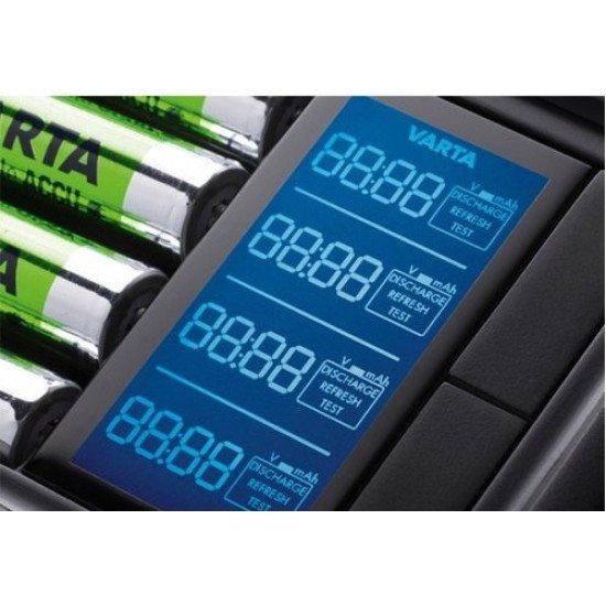Varta 57675 101 441 chargeur + 4 piles AA 2400mAh incluses