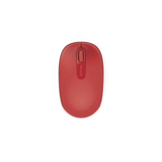 Microsoft 1850 Souris Rouge Sans fil