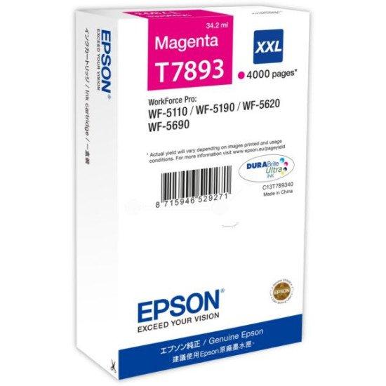 Epson T7893 Cartouche encre Magenta
