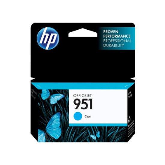 HP 951 Cyan Officejet Ink Cartridge / CN050AE#BGX Cartouche encre / Cyan