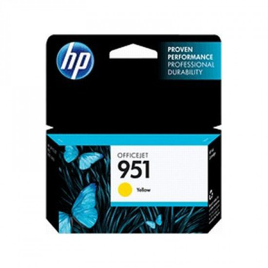 HP 951 Yellow Officejet Ink Cartridge / CN052AE#BGX Cartouche encre / Jaune