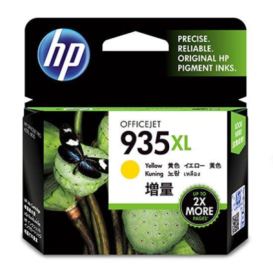 HP 935XL High Yield Yellow Original Ink Cartridge / C2P26AE#301 Cartouche encre / Jaune