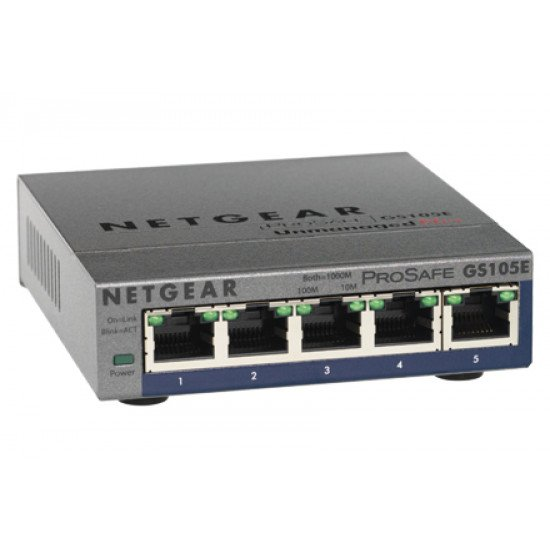 Netgear GS105PE Switch Gigabit Ethernet
