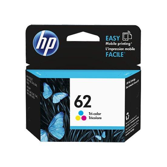 HP 62 Tri-color Ink Cartridge / C2P06AE#UUS Cartouche encre / Cyan, Magenta, Jaune