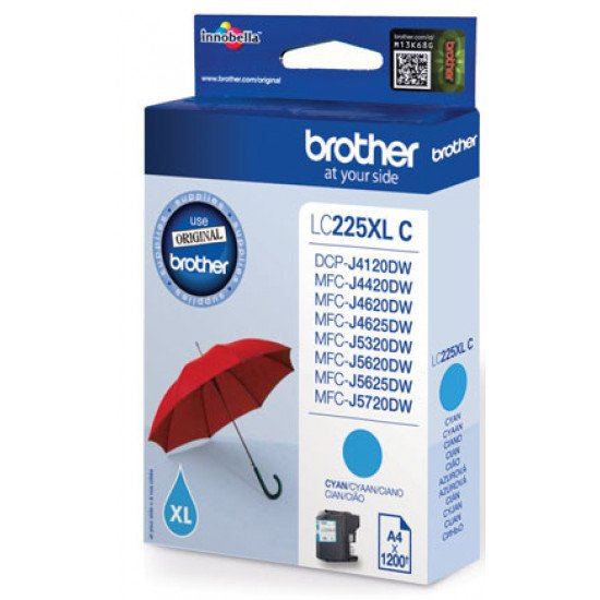 Brother LC-225XLC cartouche encre /  Cyan