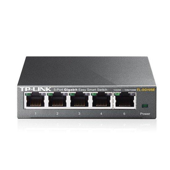 TP-LINK TL-SG105E Switch Gigabit Ethernet