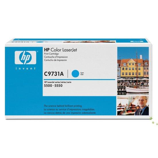 HP 645A / C9731A Toner Cyan