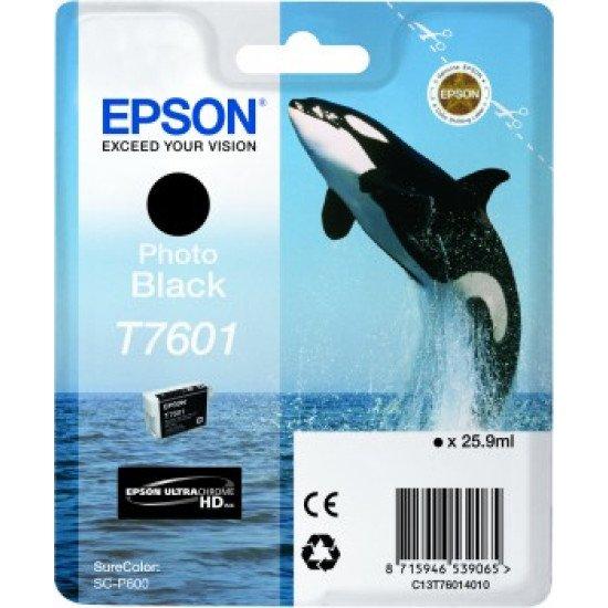 Epson T7601 Cartouche encre Noir
