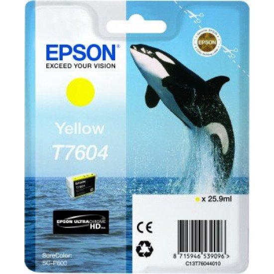 Epson T7604 Cartouche encre Jaune