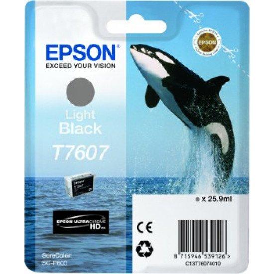Epson T7607 Cartouche encre Noir pâle