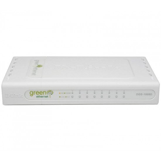 D-Link DGS-1008D/E Switch Gigabit Ethernet
