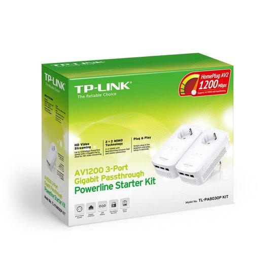TP-LINK TL-PA8030PKIT Adaptateur réseau CPL