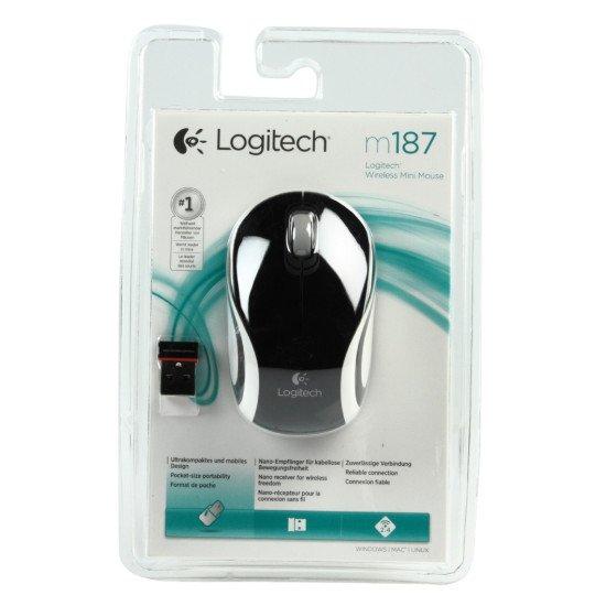 Logitech M187 Souris Optique Sans fil
