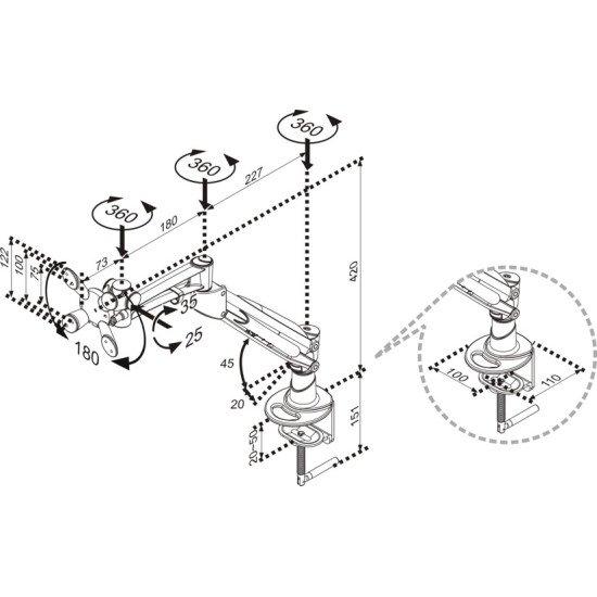 Newstar FPMA-D940 support bureau