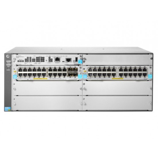 HP Enterprise 5406R 44GT PoE+ & 4-port SFP+ (No PSU) v3 zl2 Switch Gigabit Ethernet