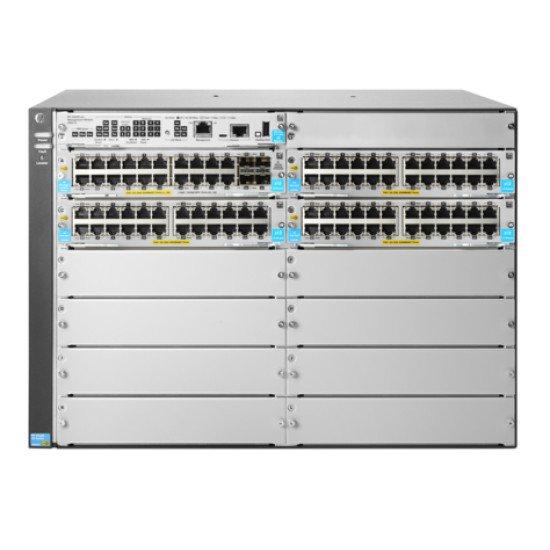HP Enterprise 5412R 92GT PoE+ & 4-port SFP+ (No PSU) v3 zl2 Switch Gigabit Ethernet
