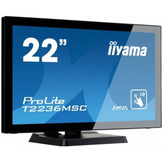 "Iiyama écran tactile 54,61 cm (21.5"") T2236MSC-B2"