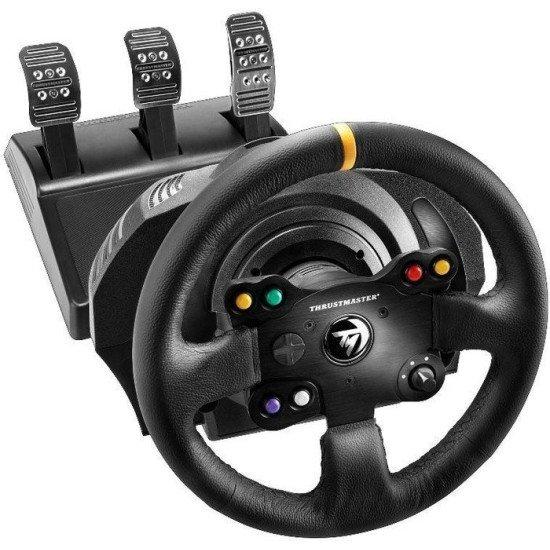 Thrustmaster 4460133 accessoire de jeux vidéo Volant + pédales PC,Xbox One Noir