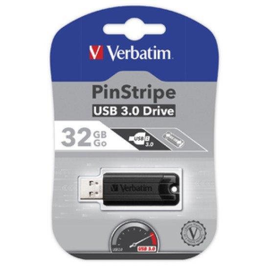 Verbatim Store 'n' Go Pin Stripe USB Drive 32 Go
