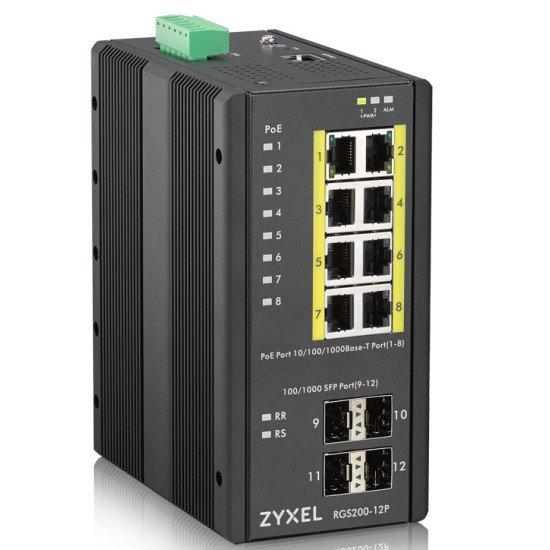 Zyxel RGS200-12P Géré L2 Switch Gigabit Ethernet