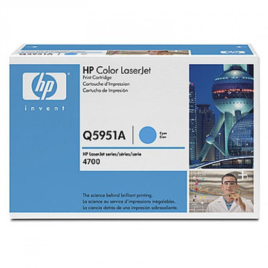 HP 643A / Q5951A Toner Cyan