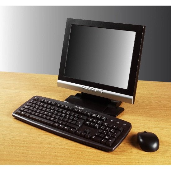 Kensington ValuKeyboard Clavier USB+PS/2 QWERTY NL Filaire Noir