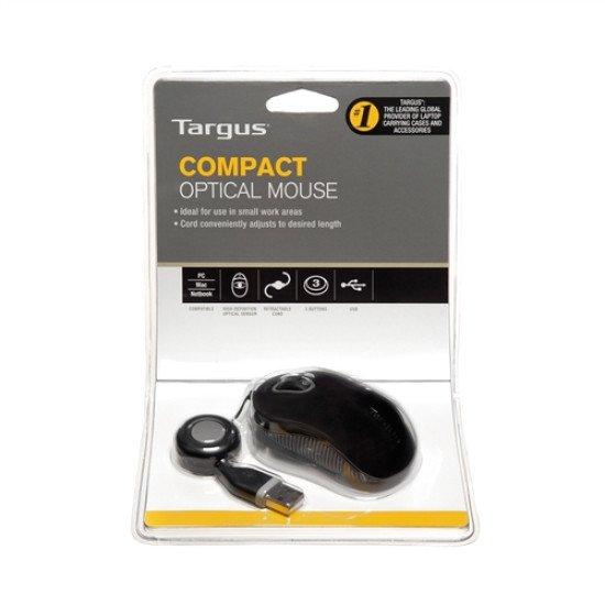 Targus Compact Blue Trace Souris Optique Filaire