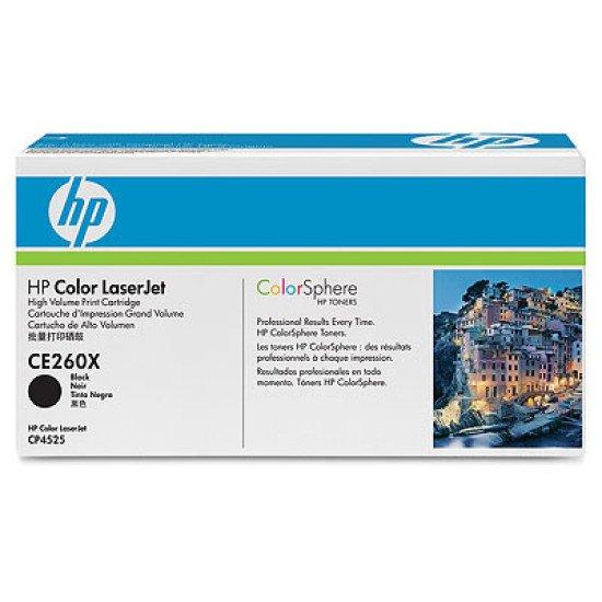 HP CE260X cartouche toner et laser / CE260X Toner Noir