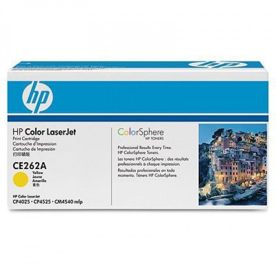 HP 648A / CE262A Toner Jaune