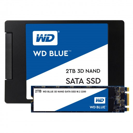 Western Digital Blue 3D NAND SATA SSD M.2 2 To
