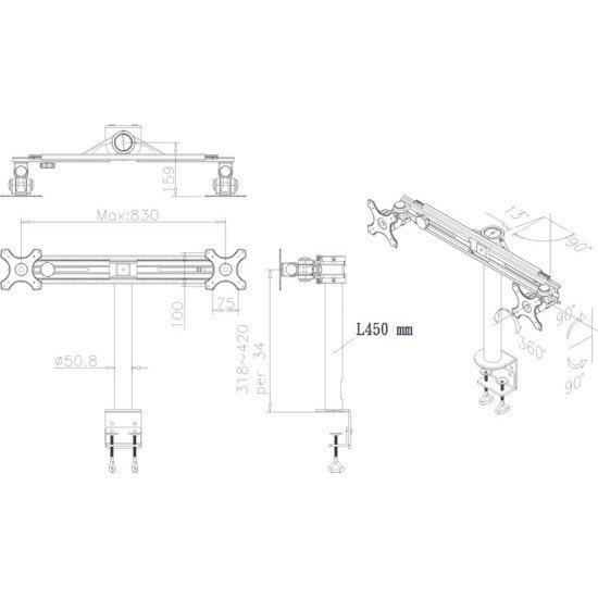 Newstar FPMA-D700D support bureau