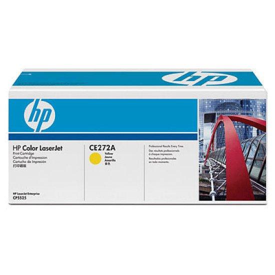 HP 650A / CE272A Toner Jaune