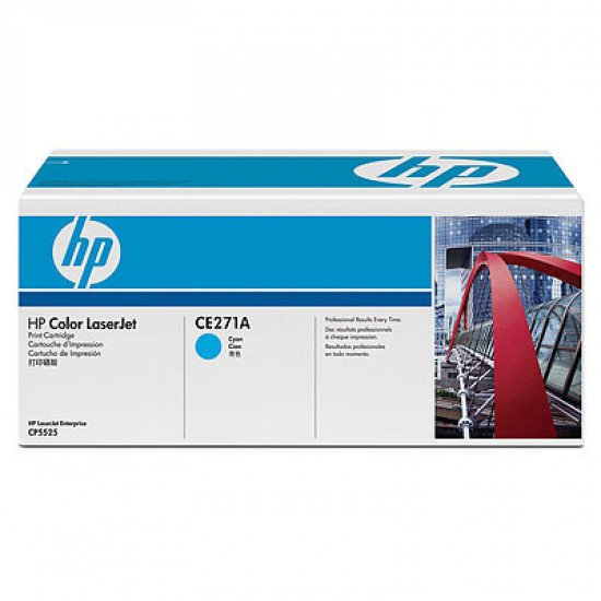 HP 650A / CE271A Toner Cyan